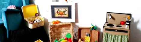 DIY: cocinita de cartón, una tarde jugando a las meriendas