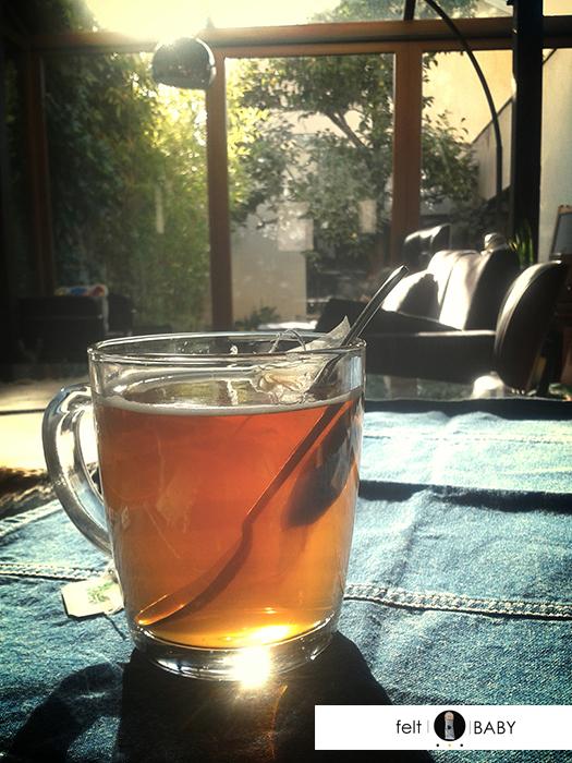 tomarse un té