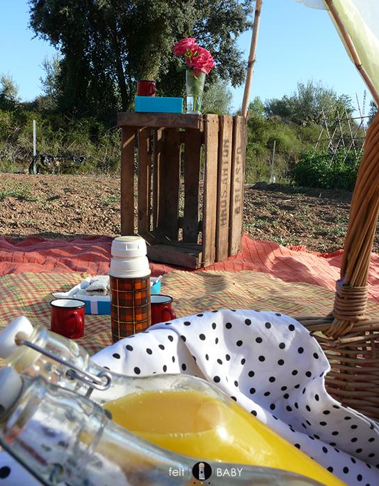 Bebidas picnic huerto