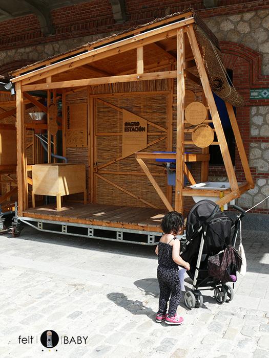 Construcción madera MataderoMadrid