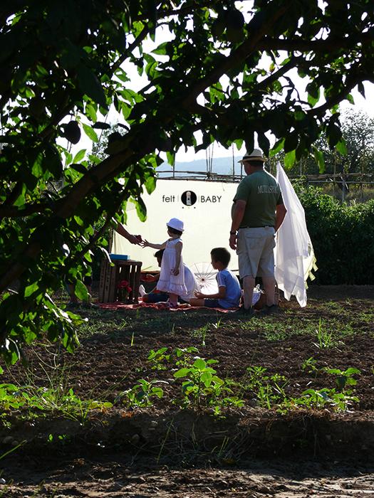 Picnic huerto grupo
