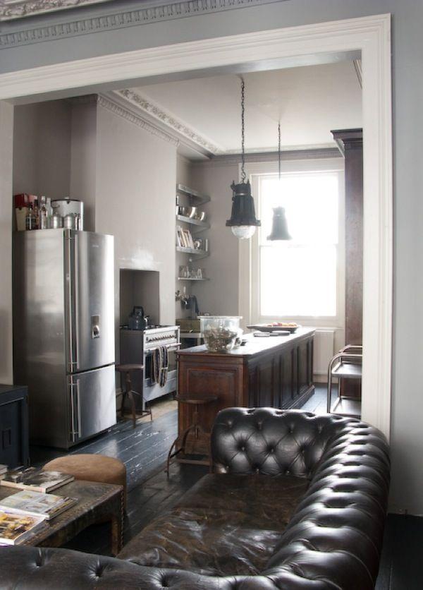 Lifestyle blog feltbaby Chester en cocina abierta