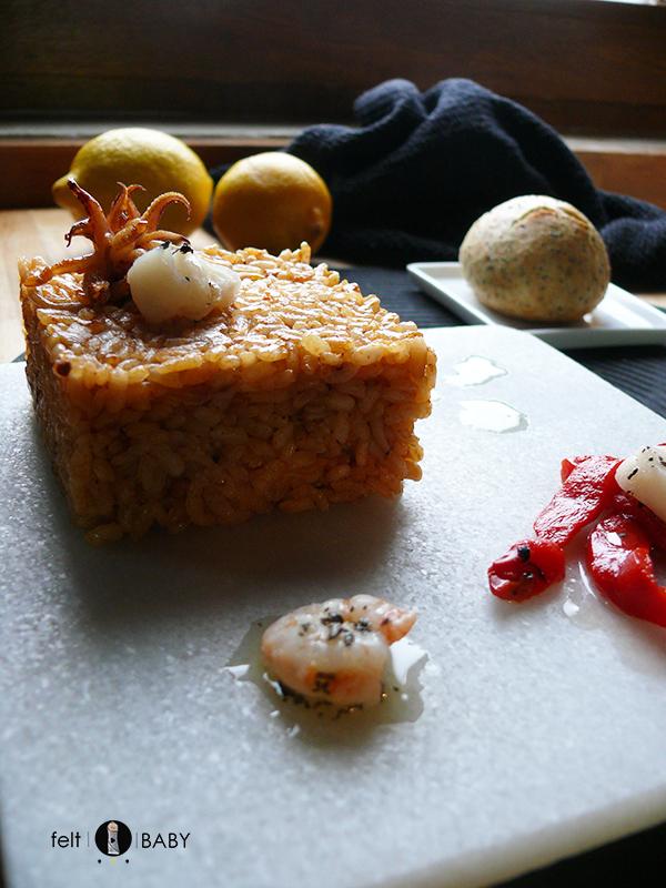 Lifestyle blog feltbaby arroz con rape emplatado