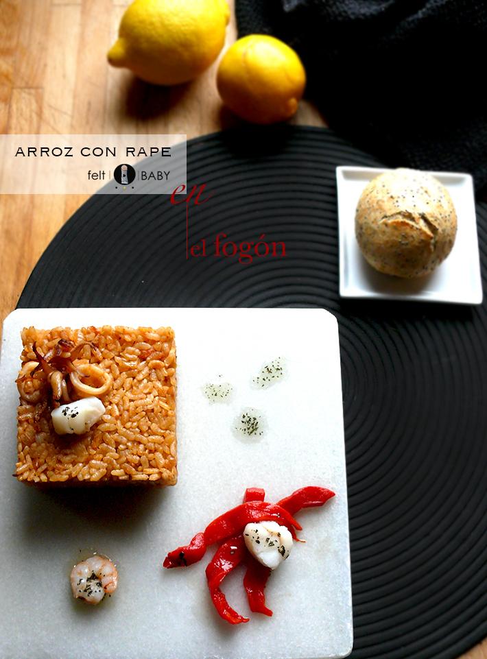 Lifestyle blog feltbaby arroz con rape en el fogón