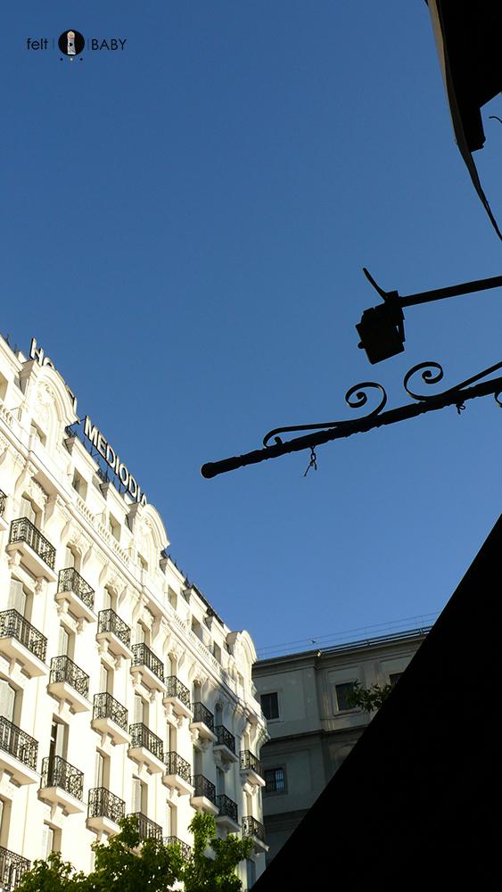 Camino del Brillante hotel mediodía