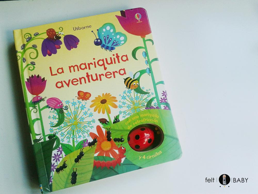 Portada del libro infantil La mariquita aventurera