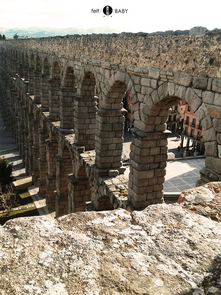 El monumento más conocido: el acueducto romano