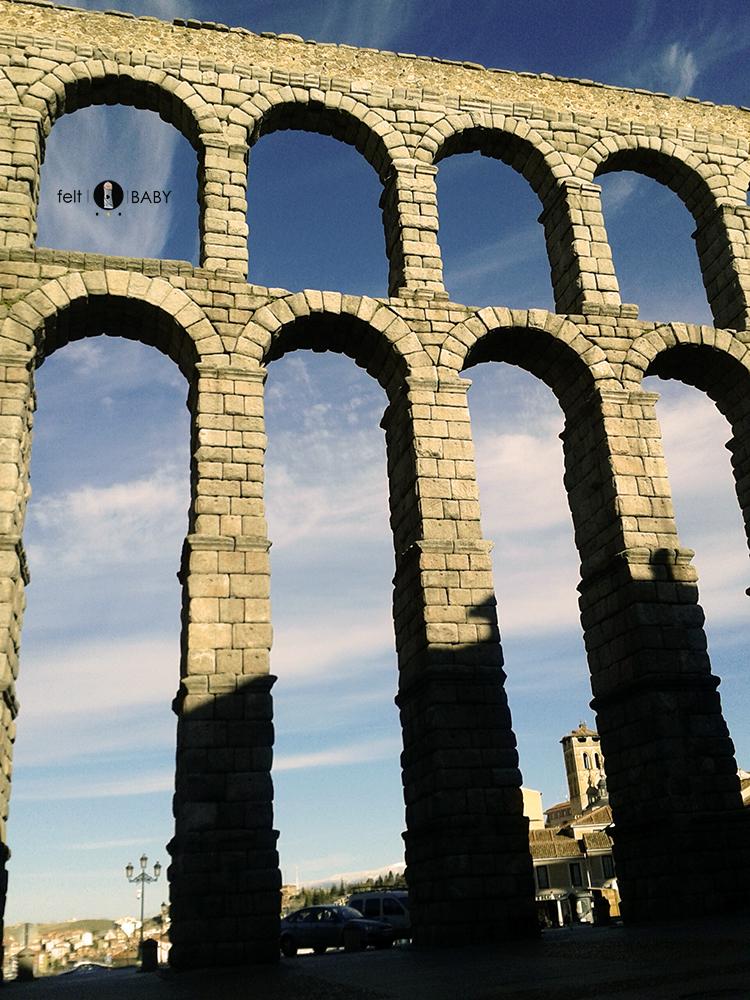 Acueducto Segovia arcos
