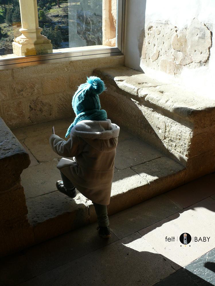 Alcázar Segovia interior piedra