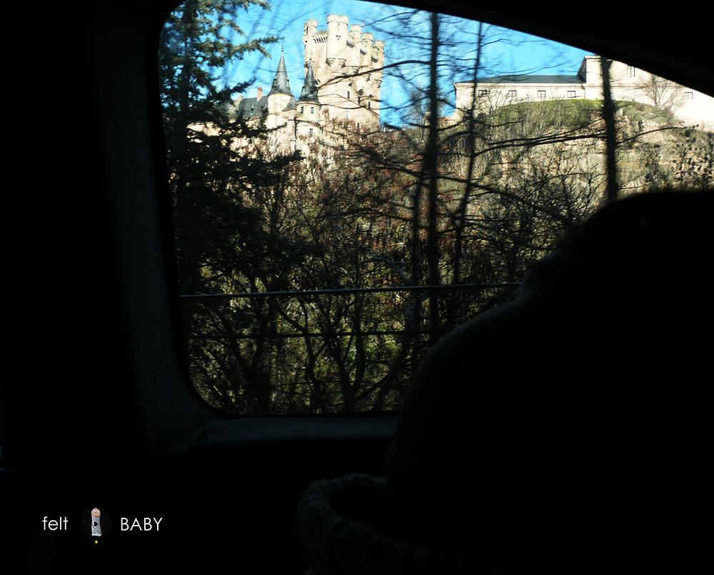 Alcázar Segovia silueta