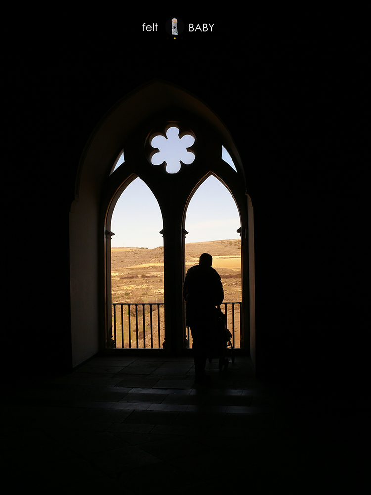 Alcázar Segovia ventana interior