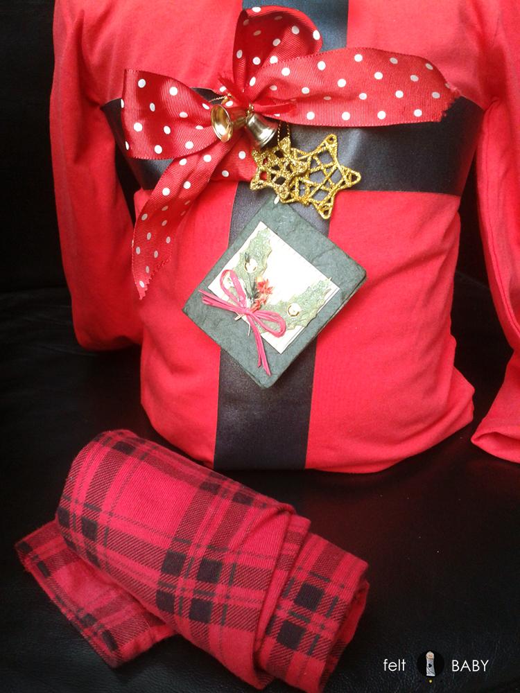 Disfraz fácil DIY regalo navideño a