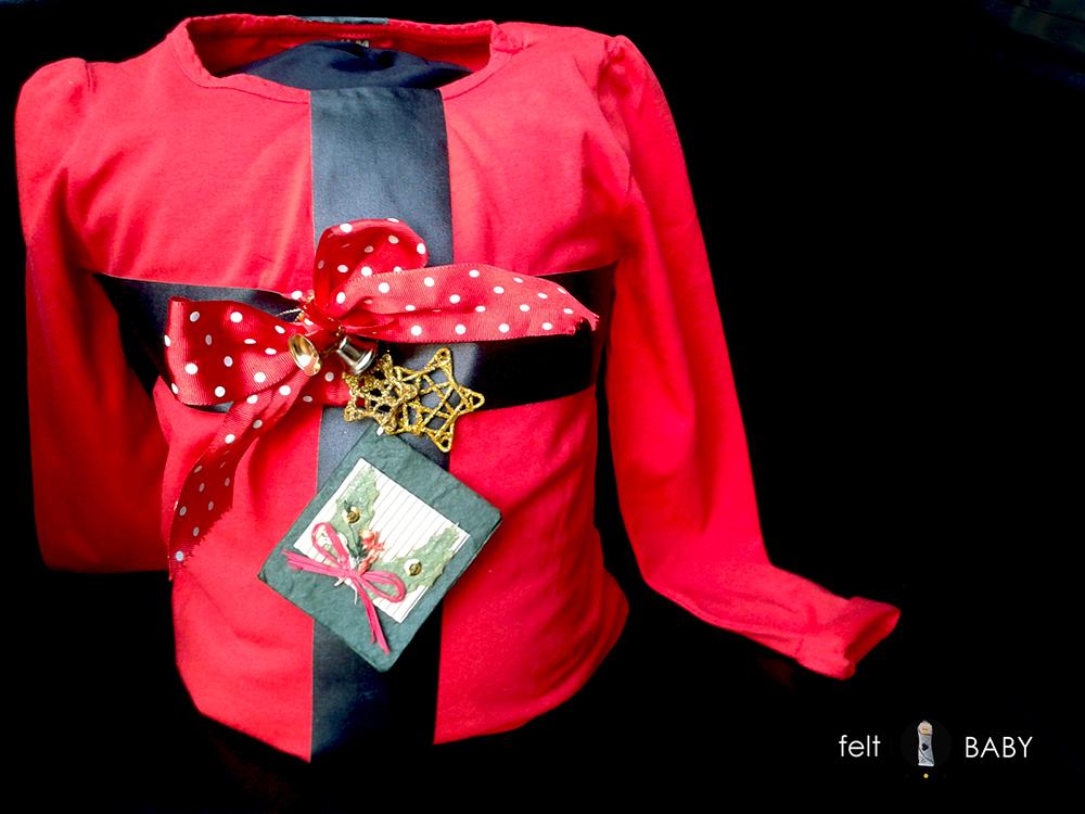 Disfraz fácil DIY regalo navideño c