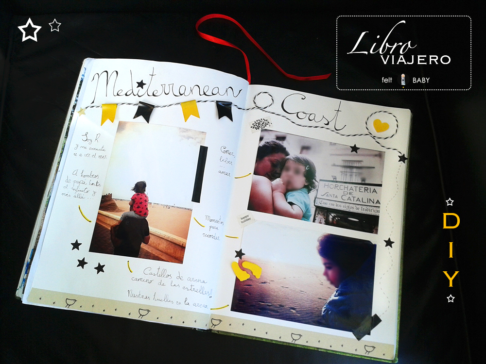 C mo hacer el libro viajero de la guarder a feltbaby - Ideas libro viajero infantil ...