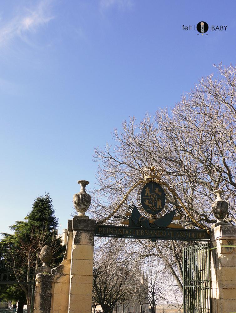 Segovia Alcázar entrada