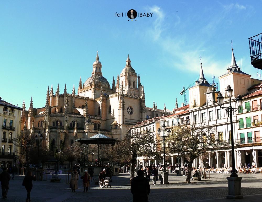 La plaza mayor de la ciudad