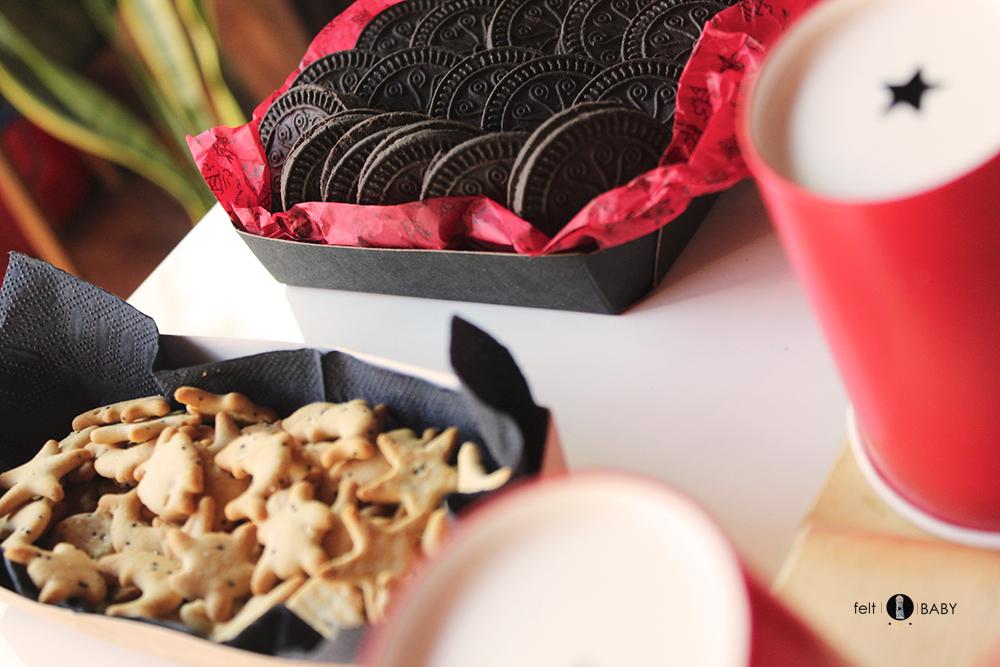 Galletas dulces y saladas para merienda de cumpleaños feltbaby blog