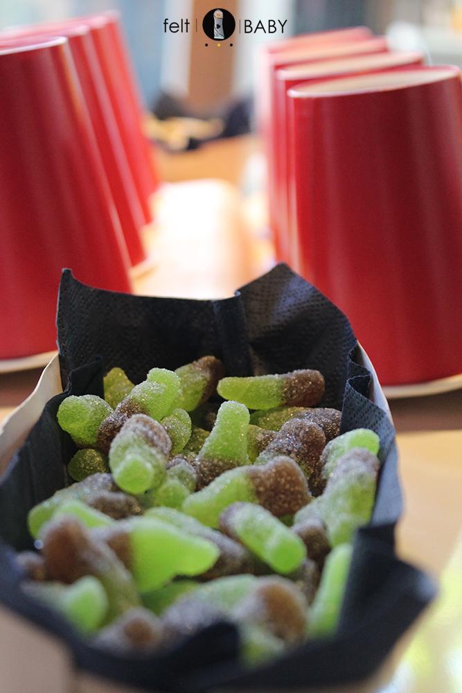 Gominolas en forma de botellita feltbaby blog