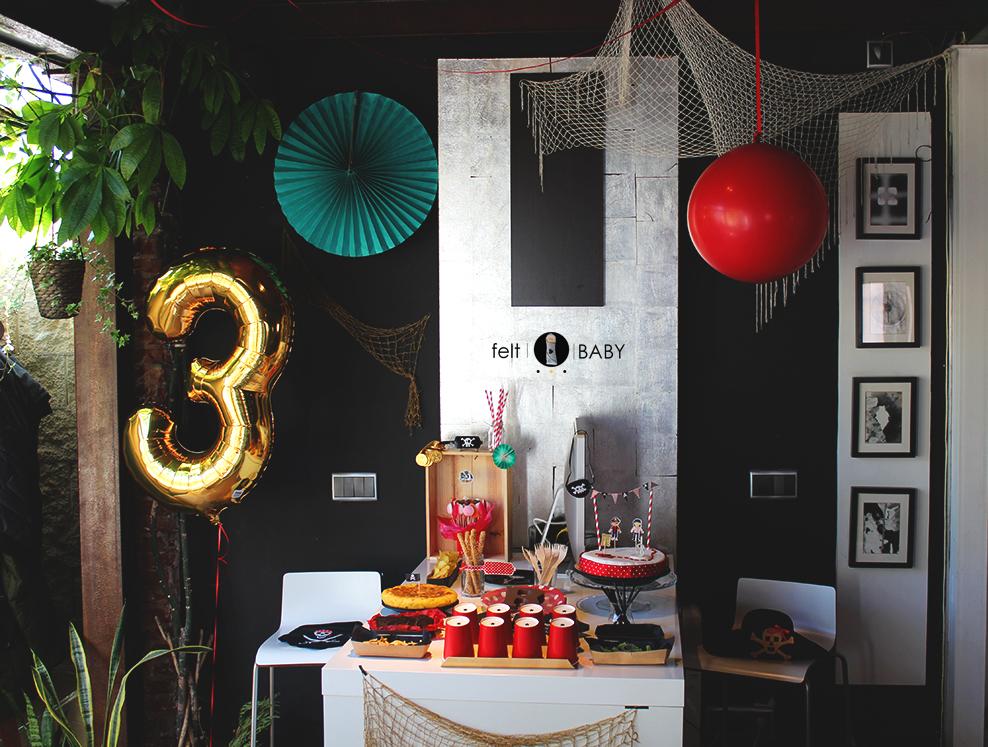 Ideas para fiesta de cumpleaños pirata