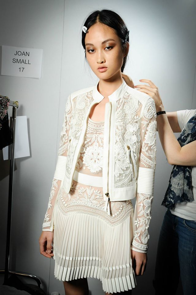 Photo: Cavalli backstage SS 2015