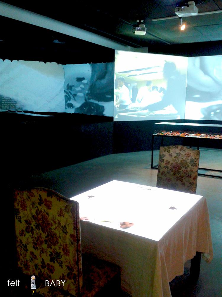Expo Ferrán Adrià videoinstalación