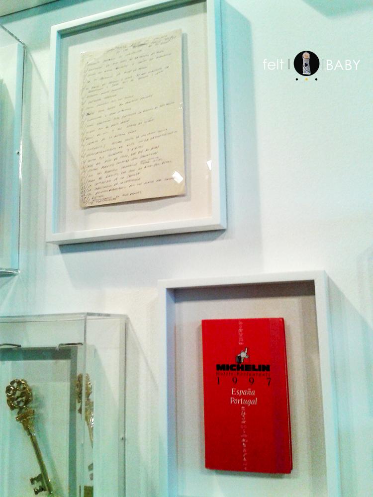 Expo Ferrán Adrià apuntes manuscritos iniciales