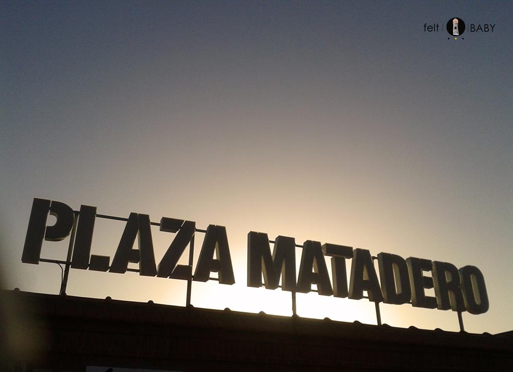 Cartel plaza matadero