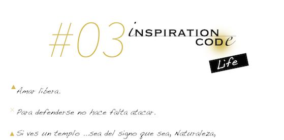 #03 Inspiration Code · Life